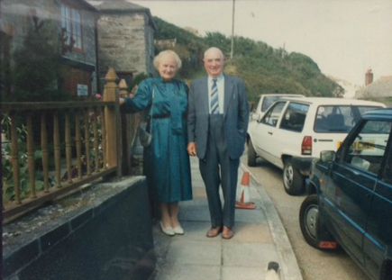 Cecile and Tom Thewlis
